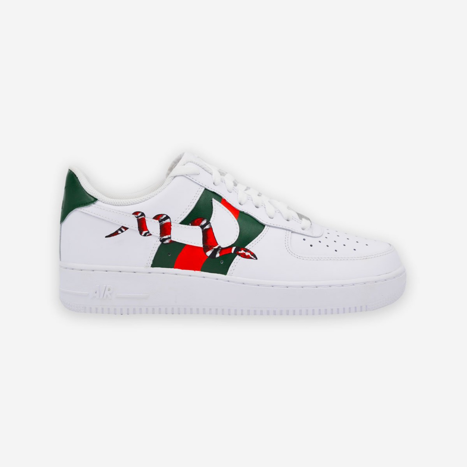 Nike Air Force 1 X Gucci Snake