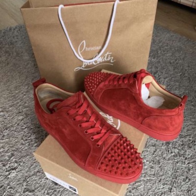 Christian Louboutin Men's Low Sneakers - Red