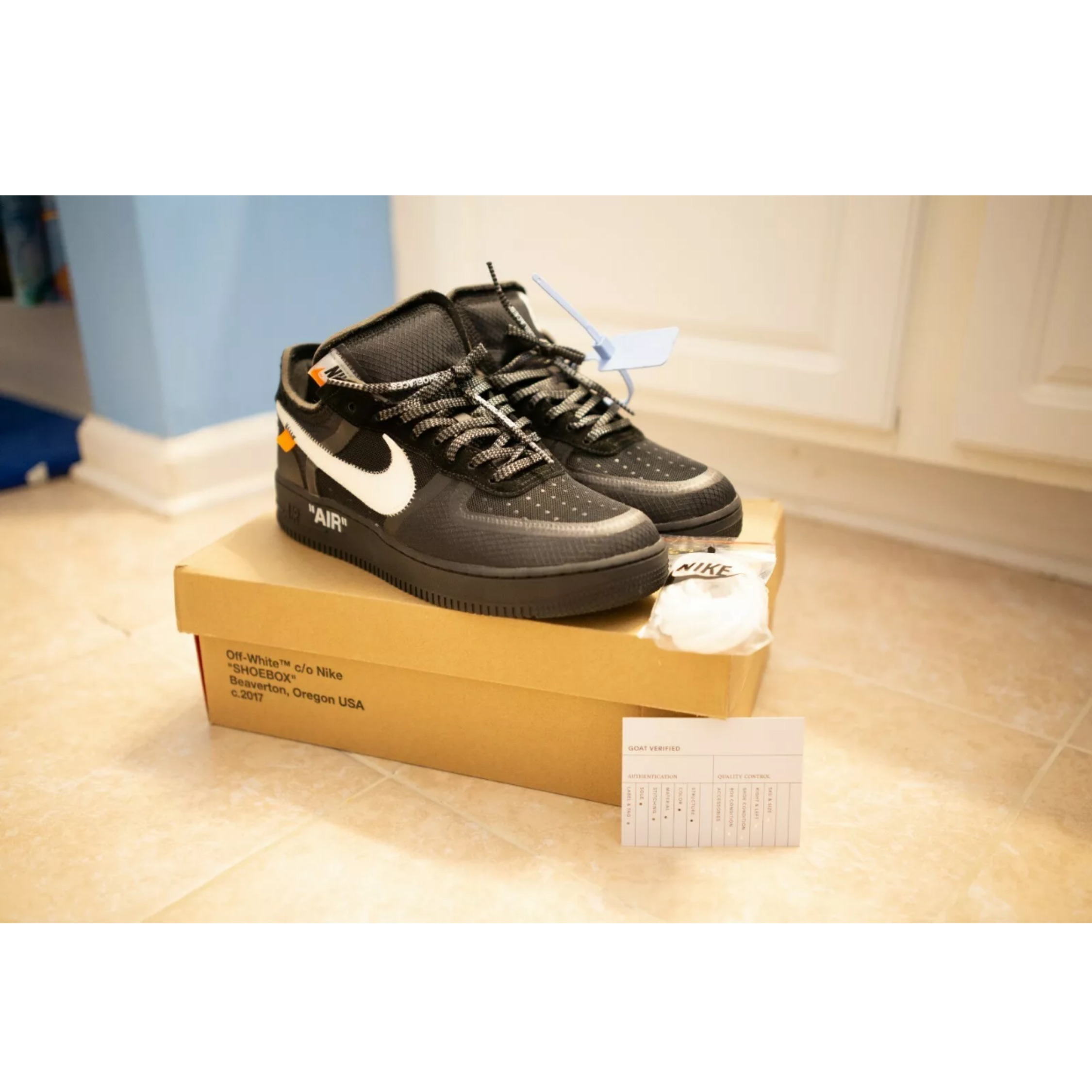 Nike The X Black Force White One Ten Off Air KcFu1JTl3