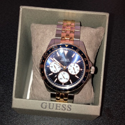 Guess Watch Gold And Silver