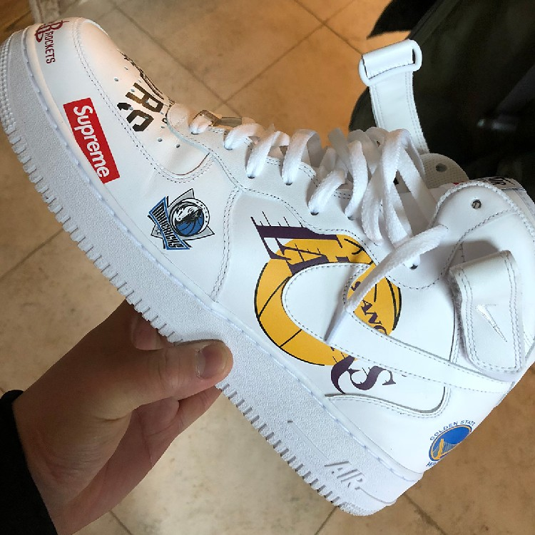 Nike Nba Air X Supreme 1 Force b6f7yg