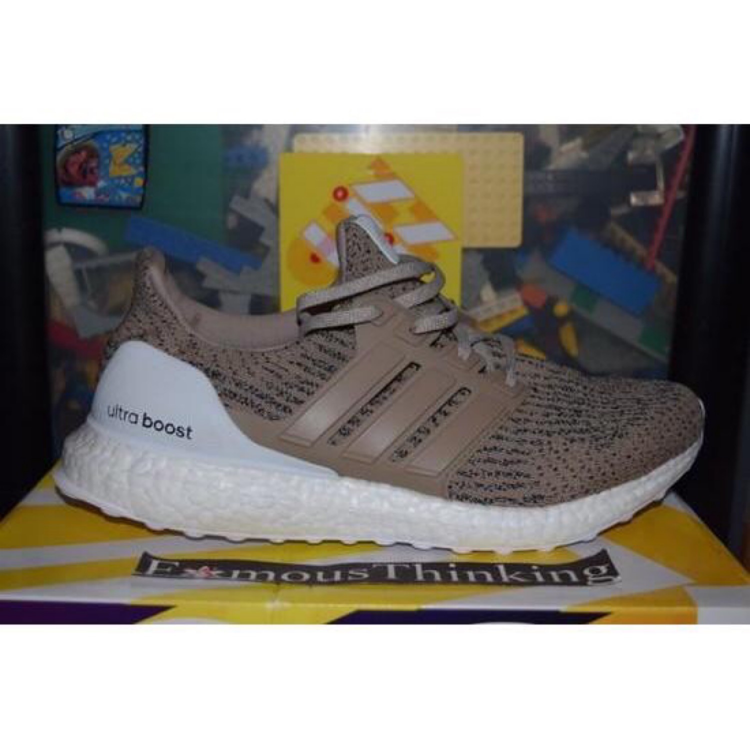 code promo f16b1 fc4e5 Adidas Ultra Boost 3.0 Khaki Test Wear Sample