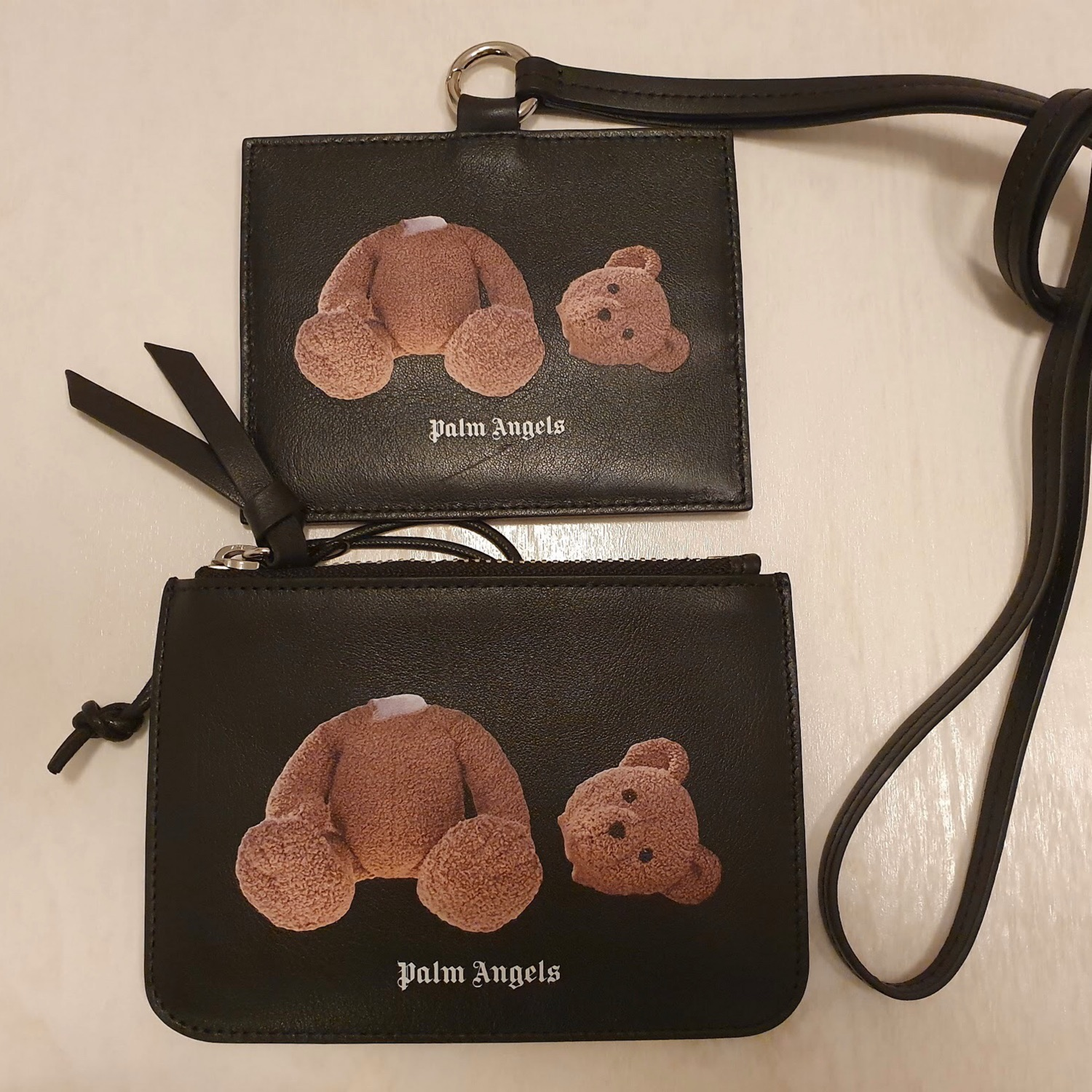 Available Last Day Palm Angels Bear Card Wallet