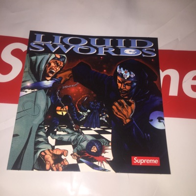 Supreme Liquid Swords Sticker