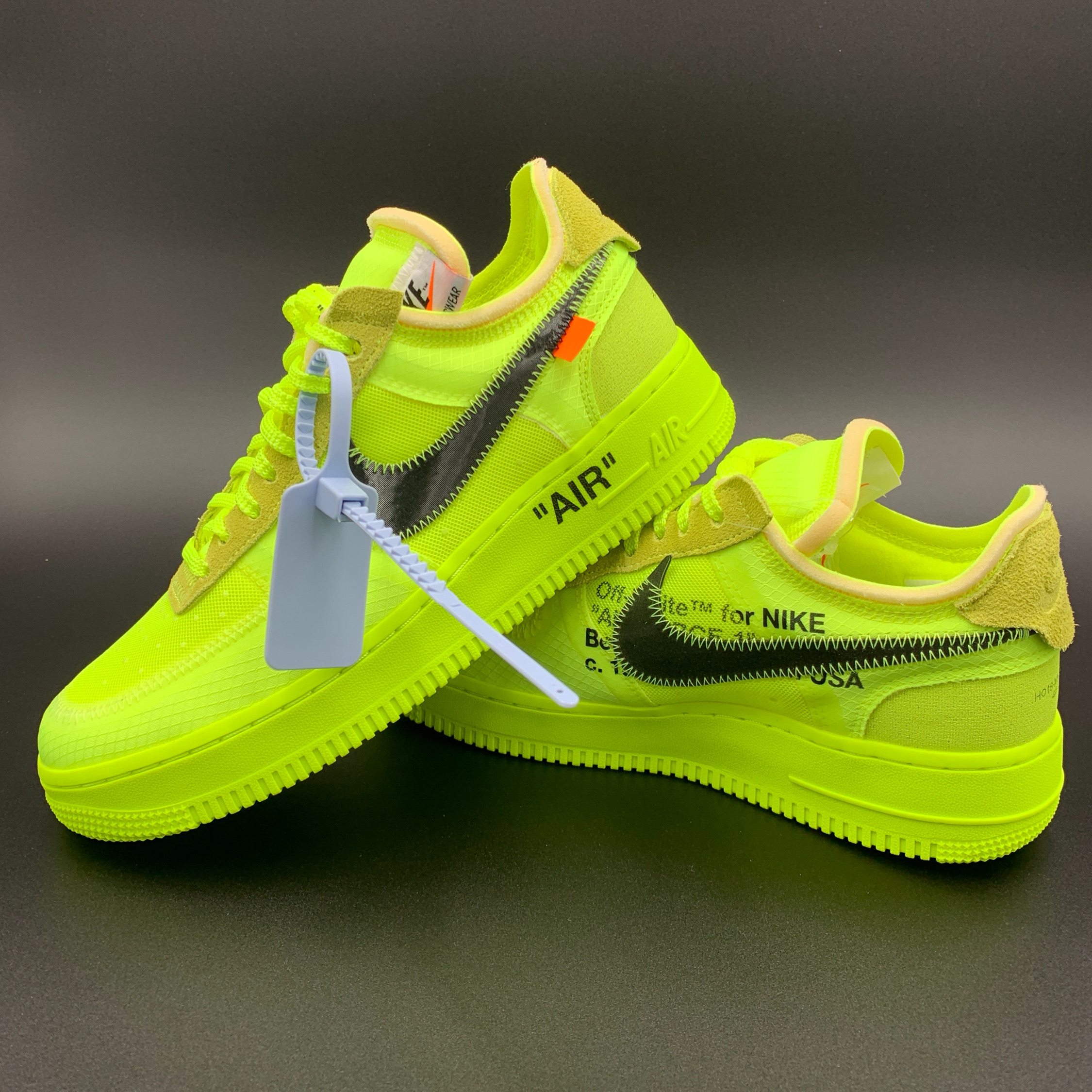 watch 302b2 18b4c Nike Air Force 1 Low Off-White Volt