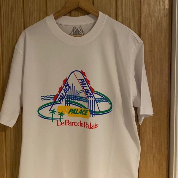 Palace French Ones T-Shirt White