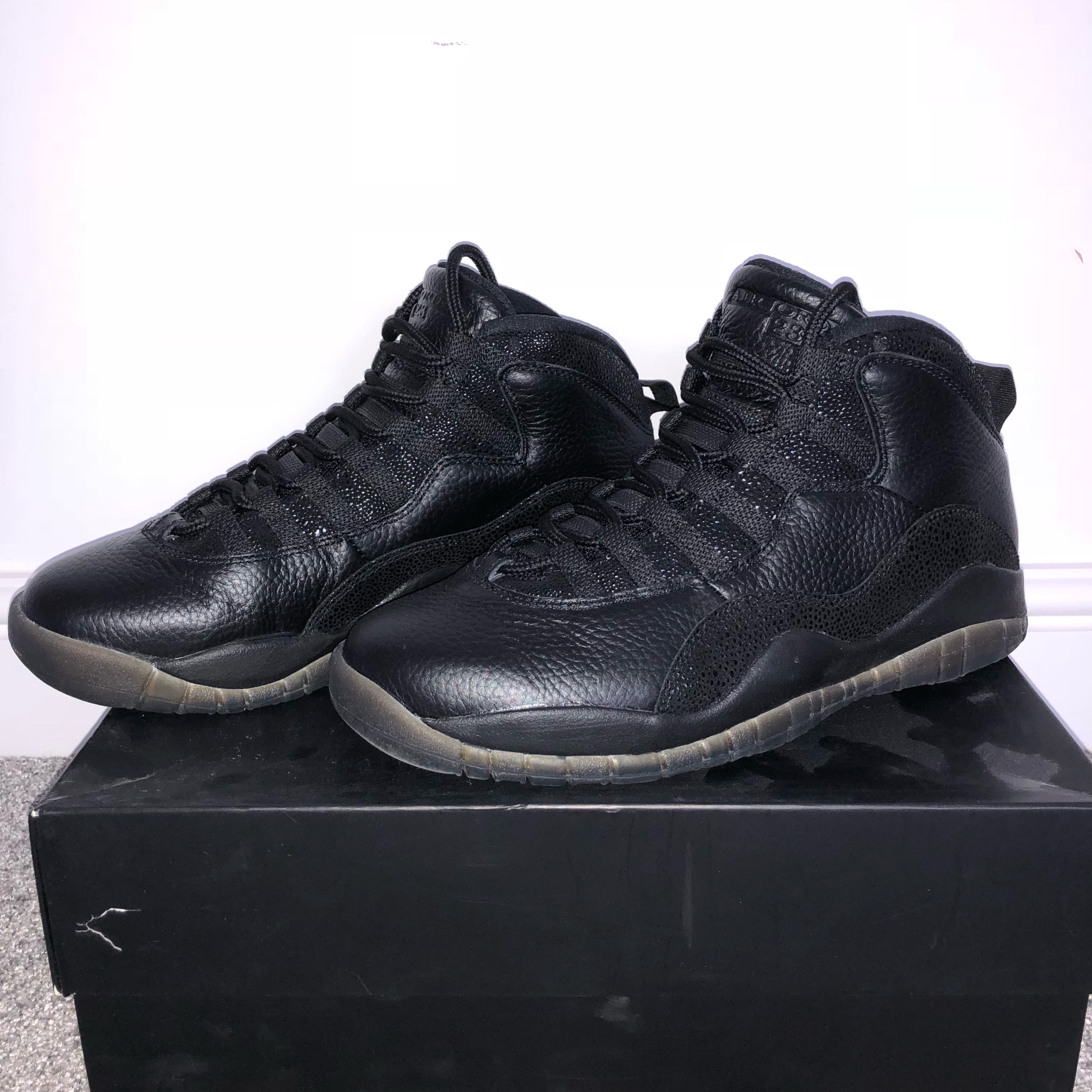 separation shoes ca54a 5d1f9 Jordan 10 Ovo 'Black'