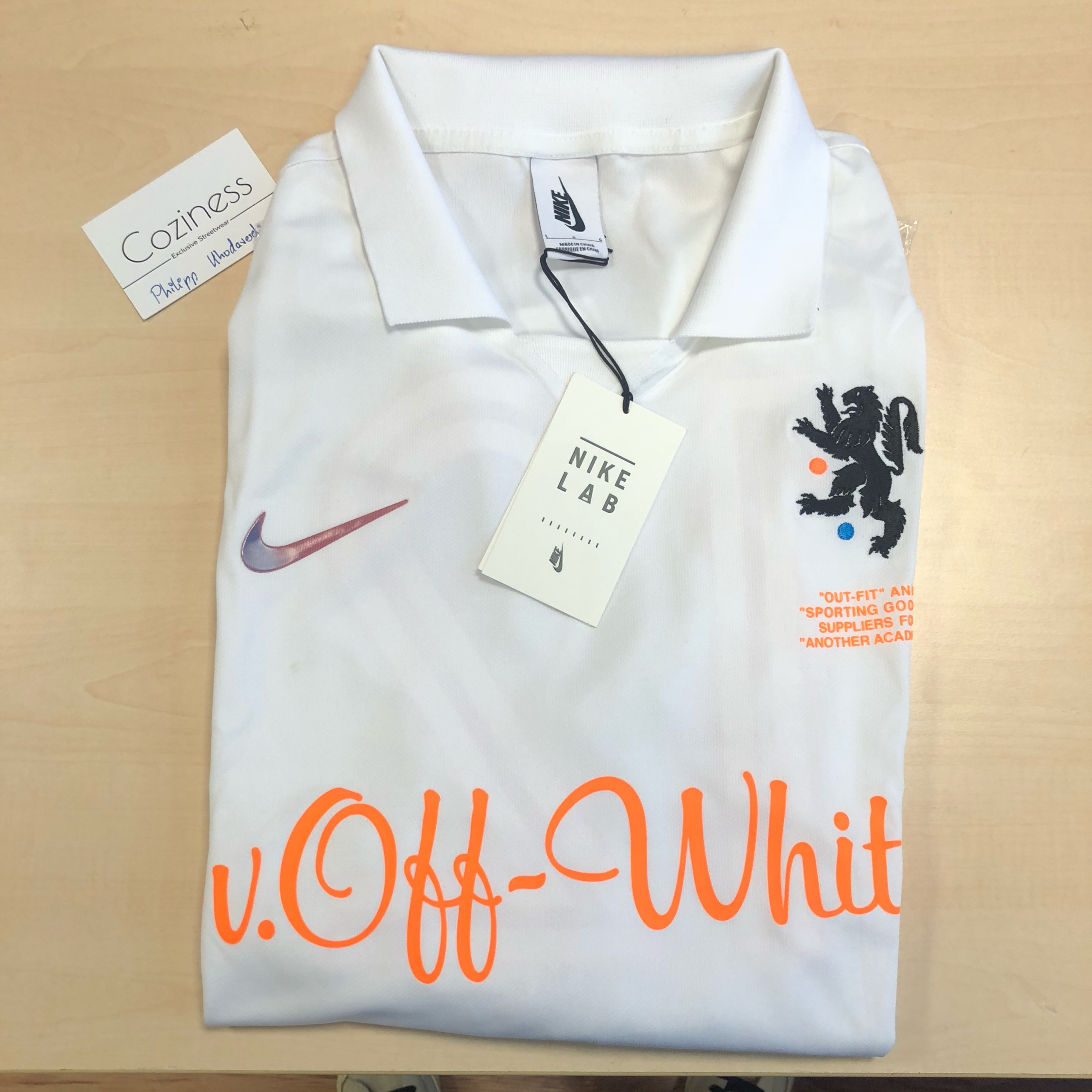 official photos d6725 61b99 Nike Off White Jersey