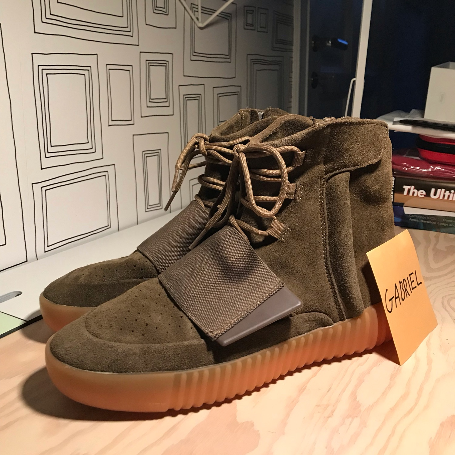 check out 92ab7 b7df0 Adidas Yeezy Boost 750 Chocolate Brown Gum