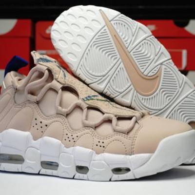 Nike Air More Money Size 6.5 Beige Brand New