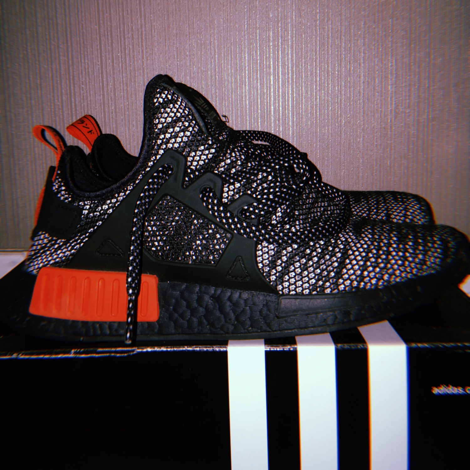 brand new d15a3 c82c4 Need Gone Adidas Nmd Xr1 Primeknit Bred