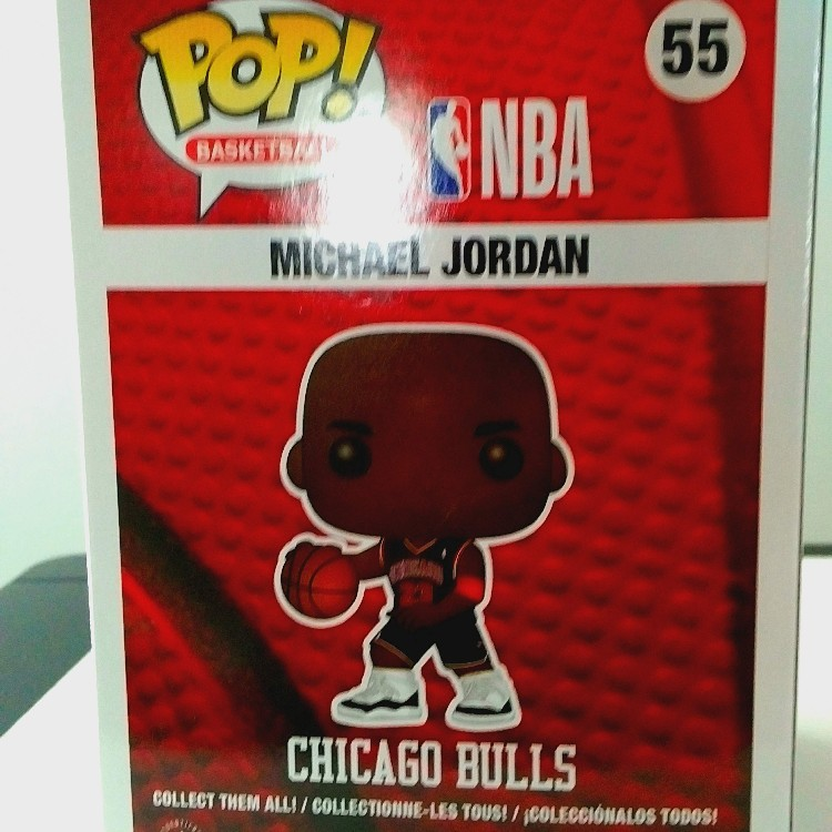 Funko Pop! Basketball Michael Jordan #55 Fanatic Exclusive