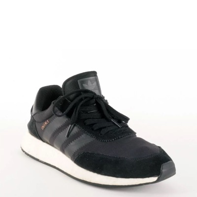 Adidas Iniki Rubber Boost Trainer Black White 11.5