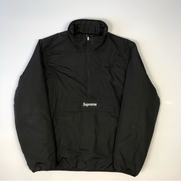 Supreme Reversible Puffer Jacket Black Xl