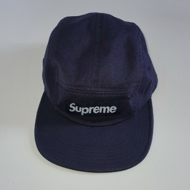 FW16 Supreme washed chino twill camp cap
