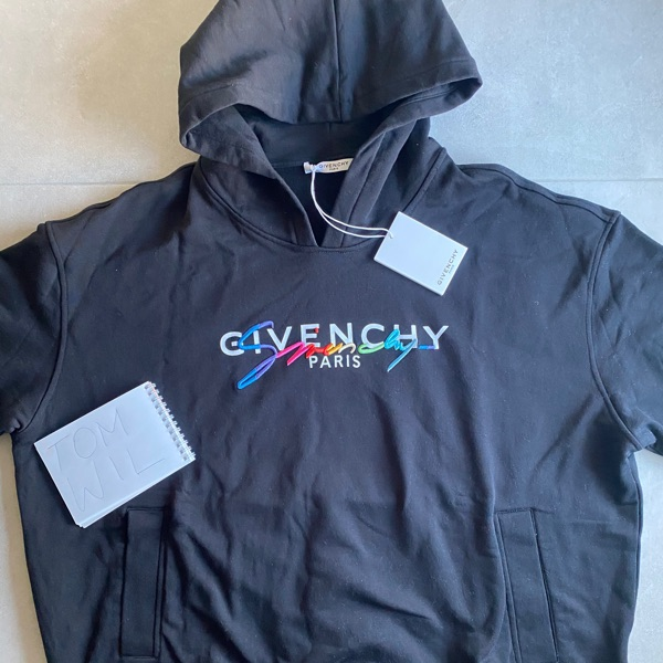 Givenchy Signature Black Hoodie
