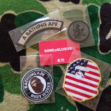 BAPE patches