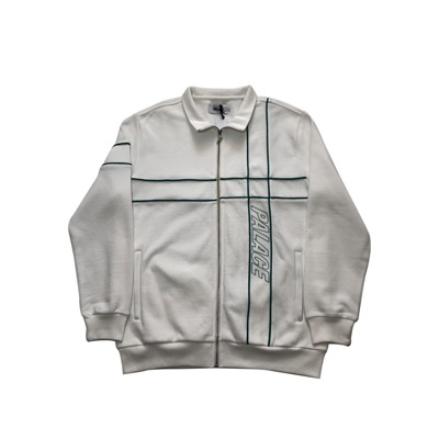 Palace Piper Track Top White Size Large