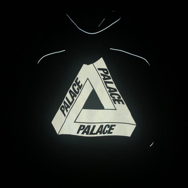 Palace Reflecto Hood Navy
