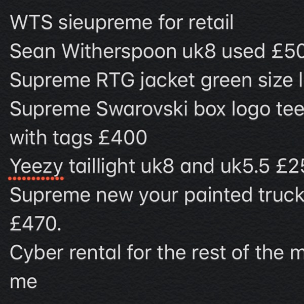 Supreme,Sean Witherspoon+More