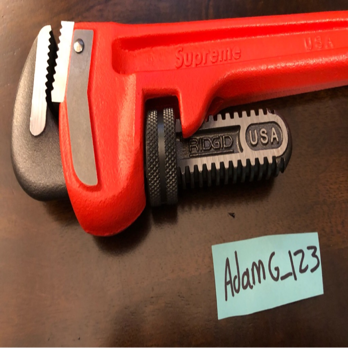 Supreme Ridgid Pipe Wrench