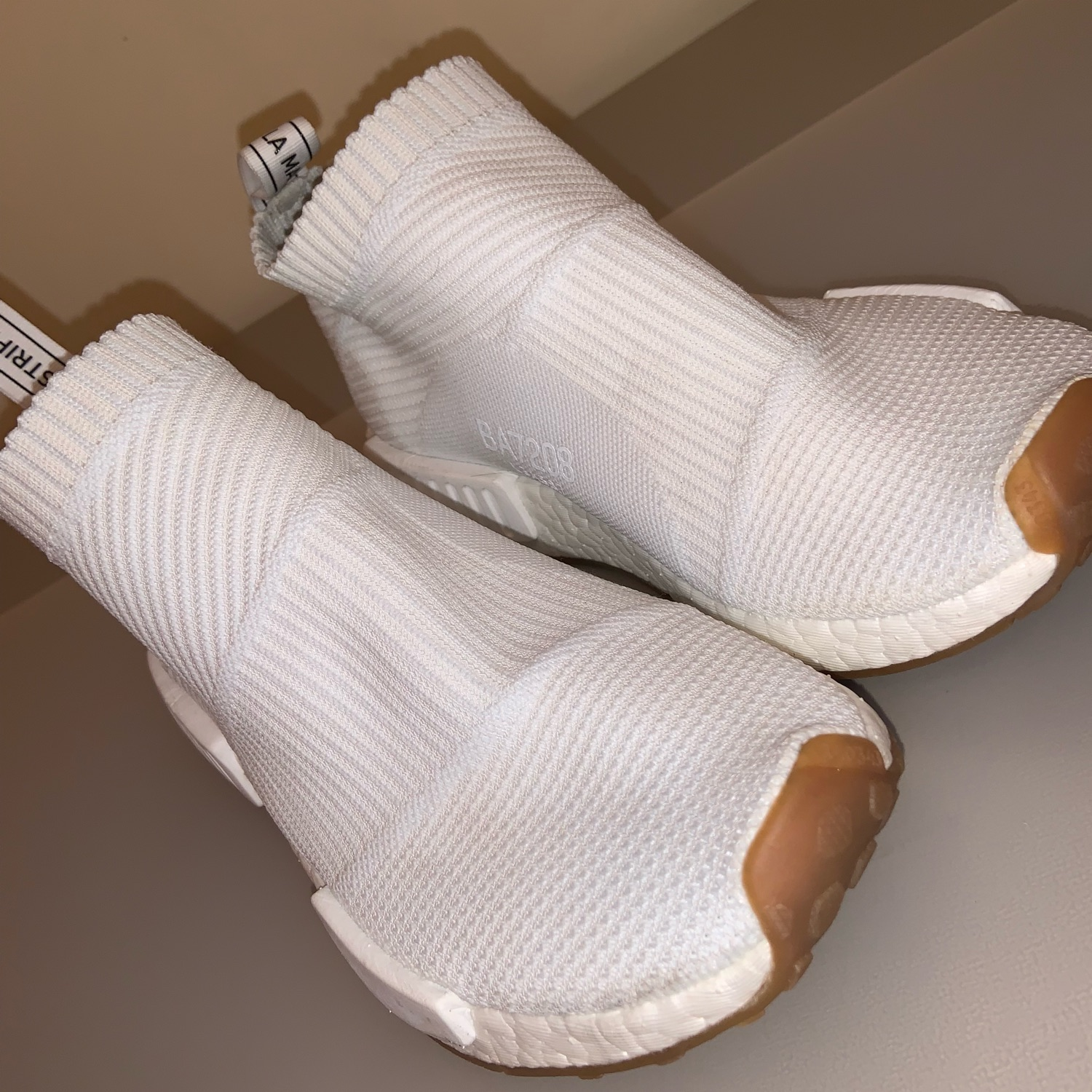 best sneakers 97fc6 ff2d8 Nmd City Sock White