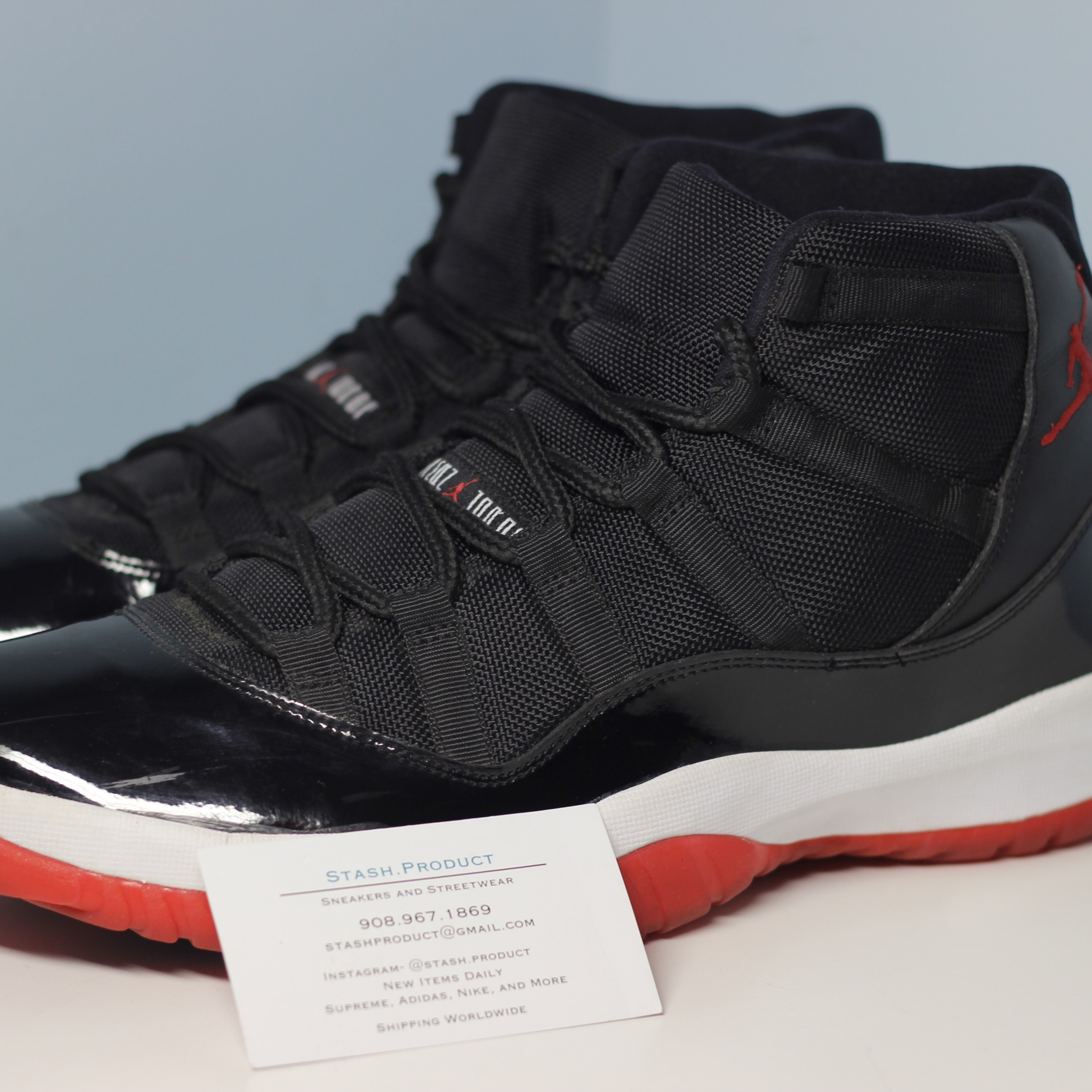 new arrival 30697 af436 Air Jordan 11 Retro Bred Playoffs 2012 Size 12