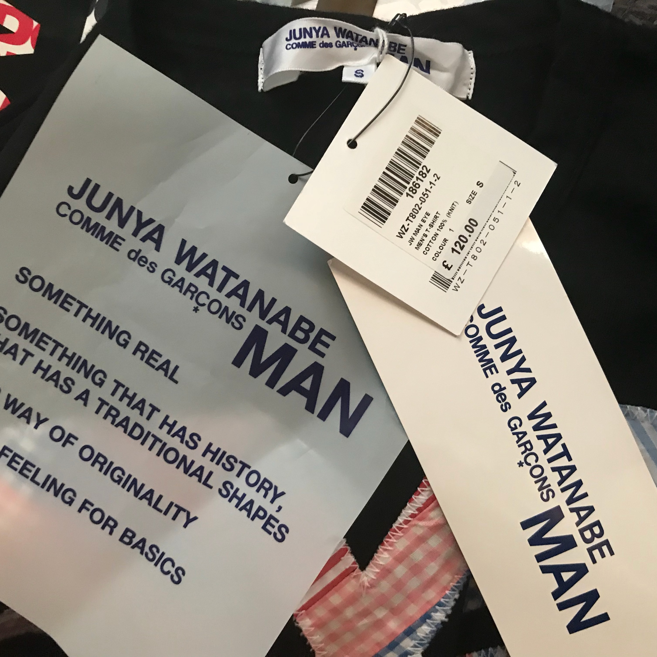 Comme Sea Garcons Junya Watanabe Man Eye Tee