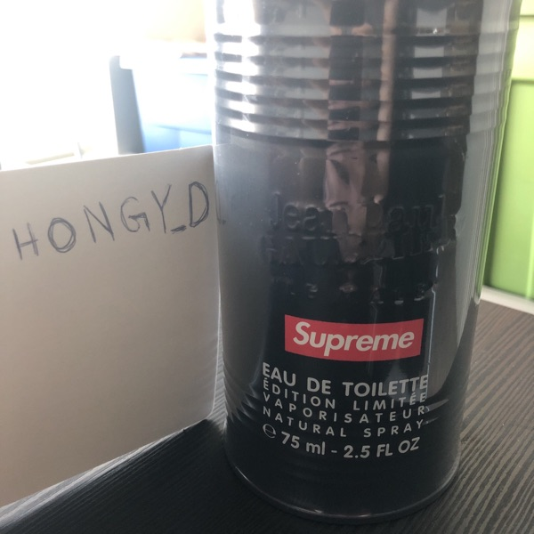 Supreme X Jean Paul Gaultier Cologne