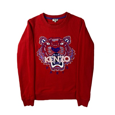 Kenzo Paris Men's Crewneck Red Jumper