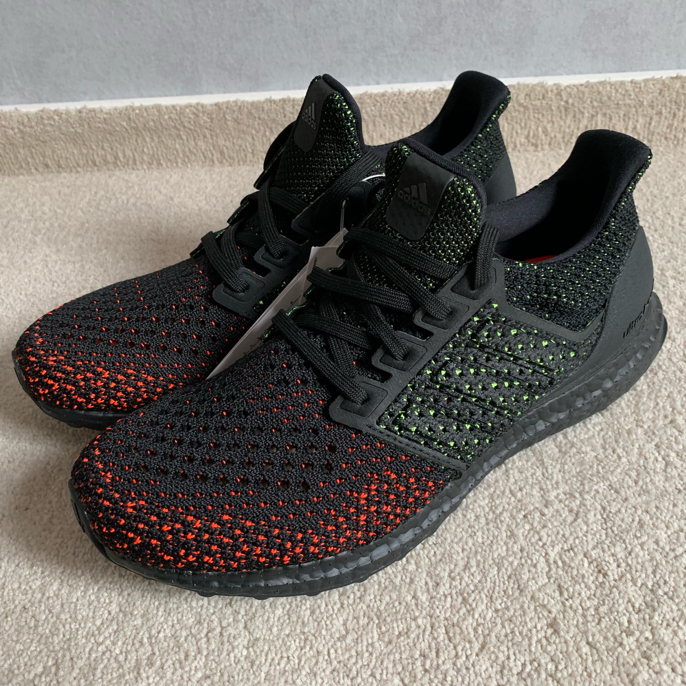 9aa2c287c412d Adidas Ultra Boost Clima Core Black Red Us 9 Ds