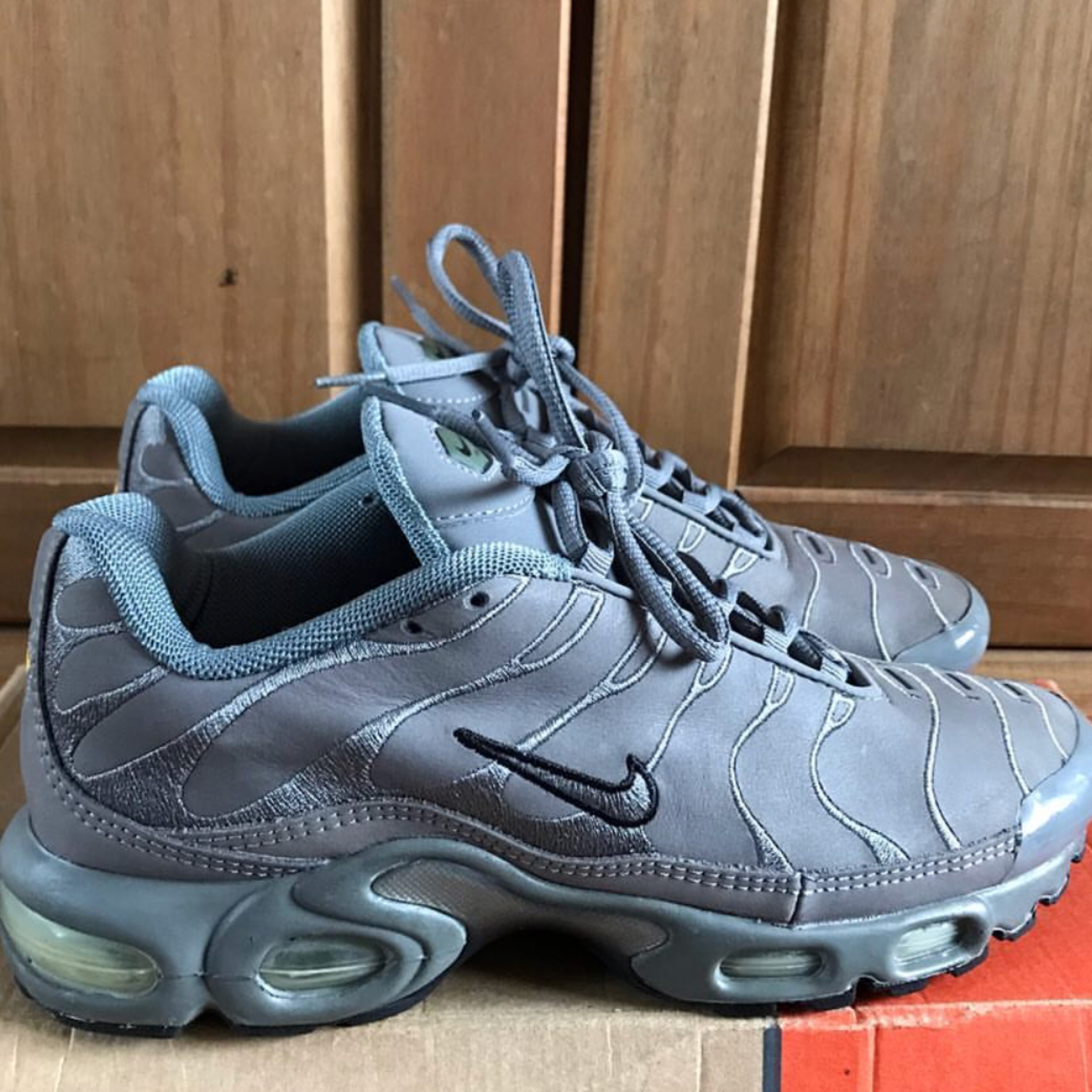 hot product clearance sale 100% quality Nike Air Max Plus Tn Grey Suede New From 2000
