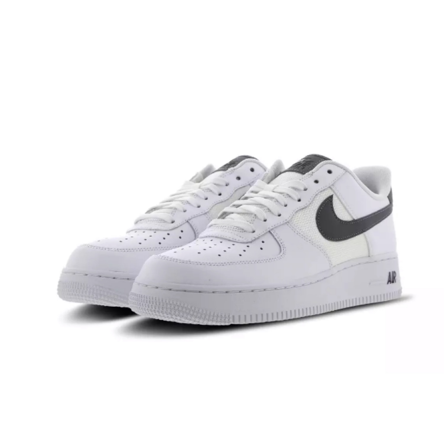 Nike Air Force 1 Low White Cool Grey Maroon
