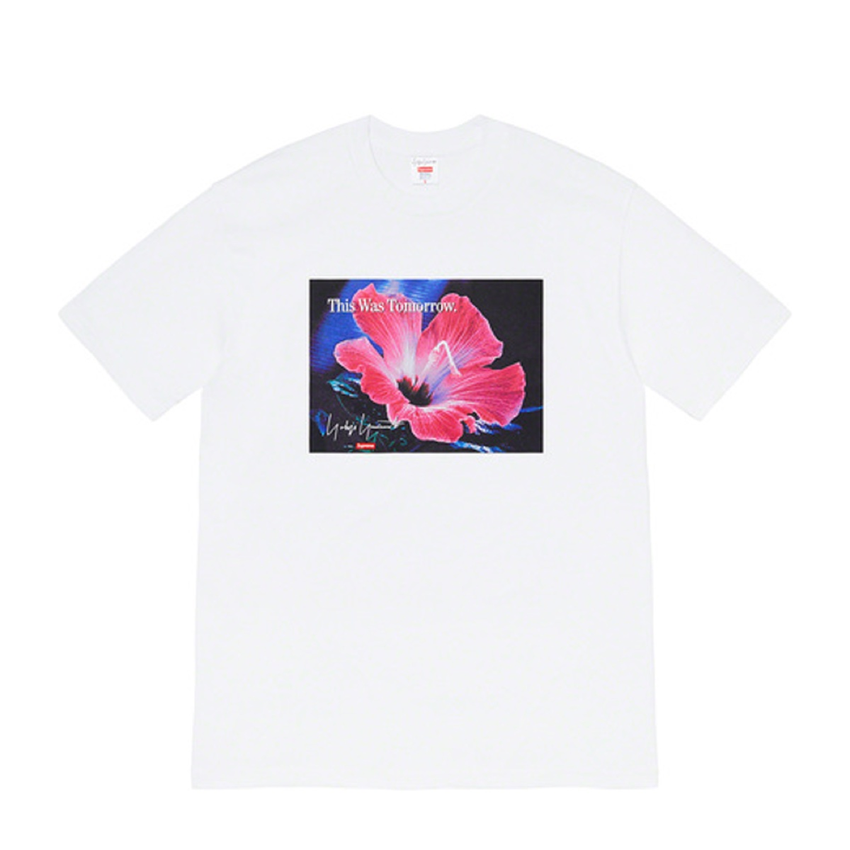 Supreme Yohji Yamamoto This Was Tomorrow Tee White