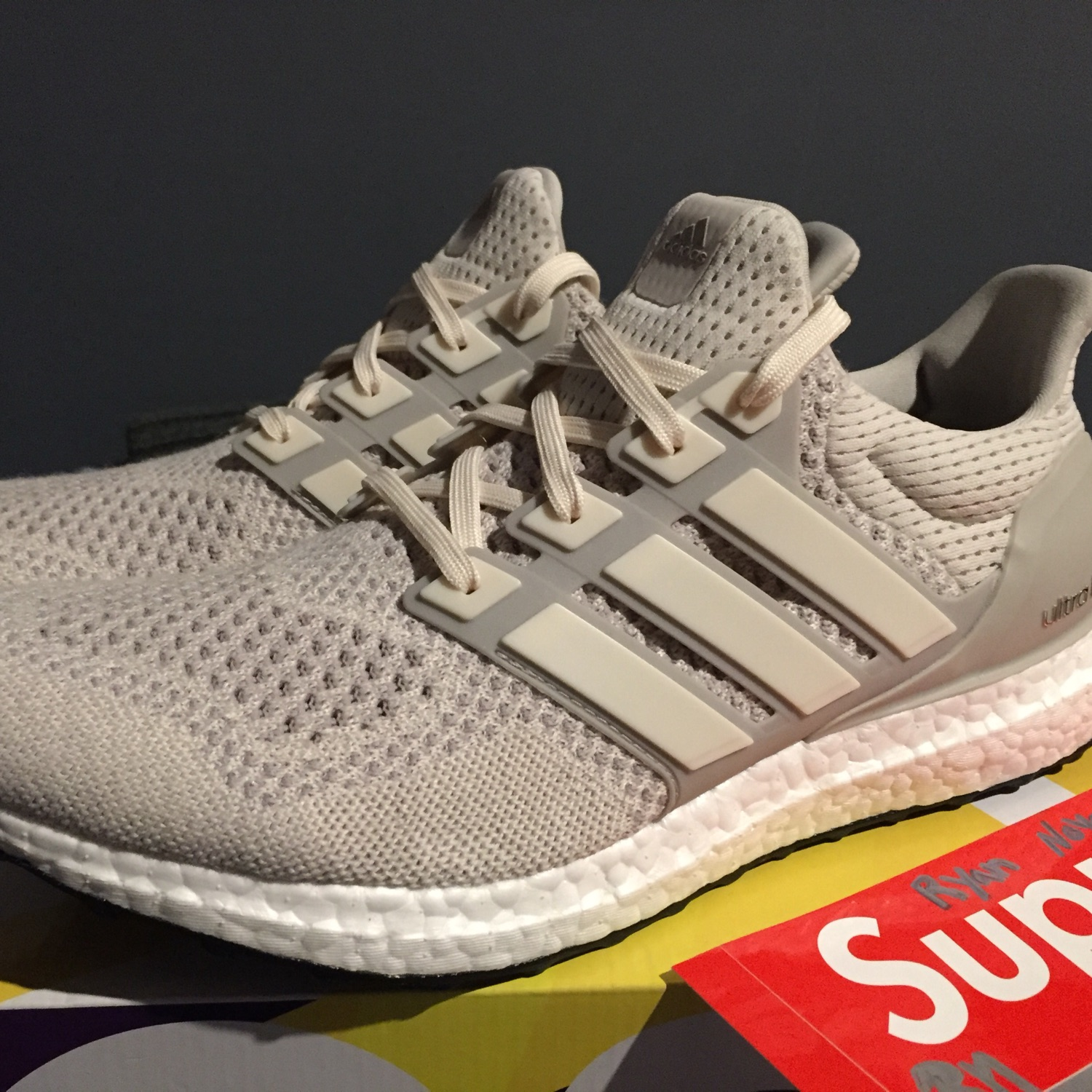 premium selection e1645 0f984 Adidas Ultra Boost 1.0 Cream/Chalk Ltd