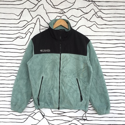 Fleece Columbia Women Green Colour Medium Size