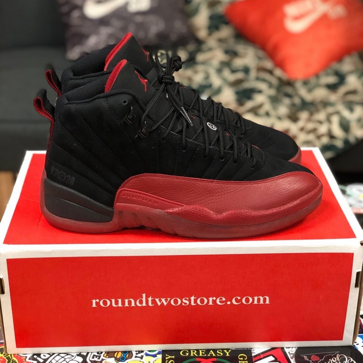 air jordan 12 flu game 2009