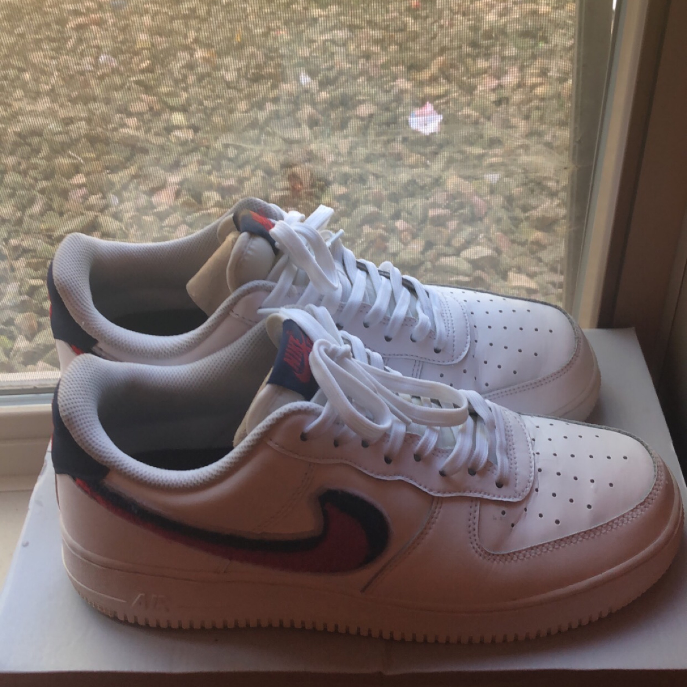 Air Force 1 Low 3D Chenille Swoosh