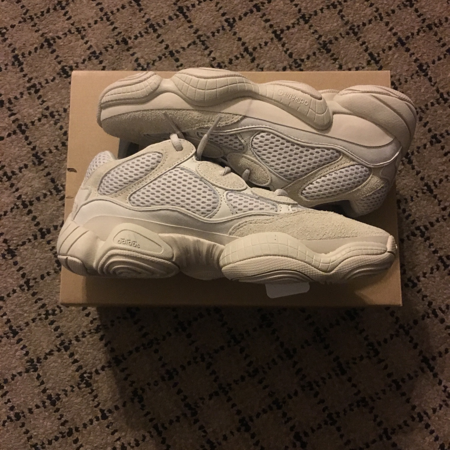 competitive price 692c9 bb040 Yeezy 500 Blush Desert Rat