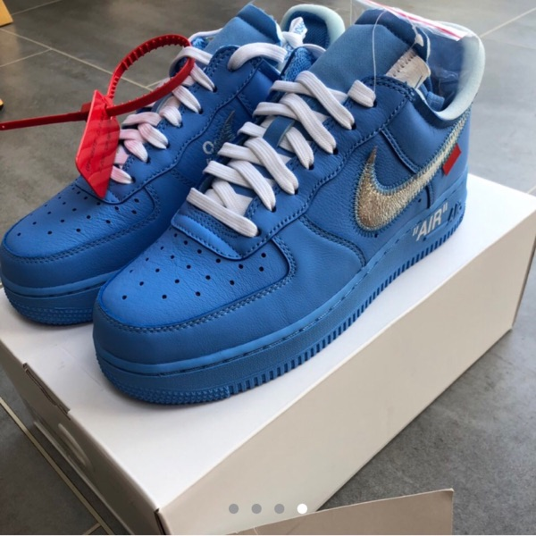 Nike/ Off White Mca Air Force 1 Shoes *Dswt*