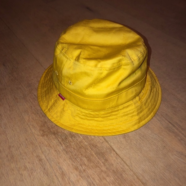 Supreme Bucket Hat (Yellow)