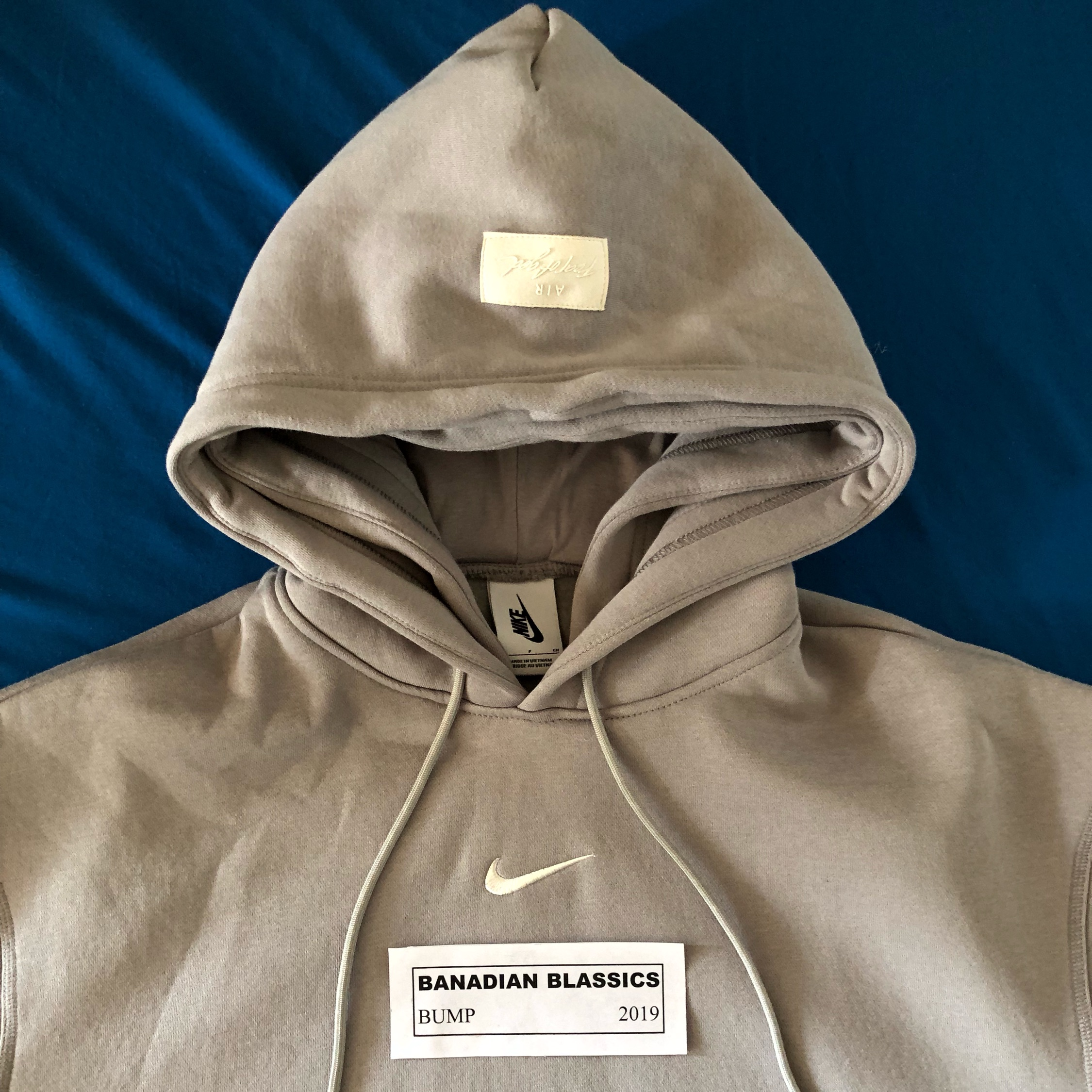 Fear Of God X Nike Double Hooded Pull
