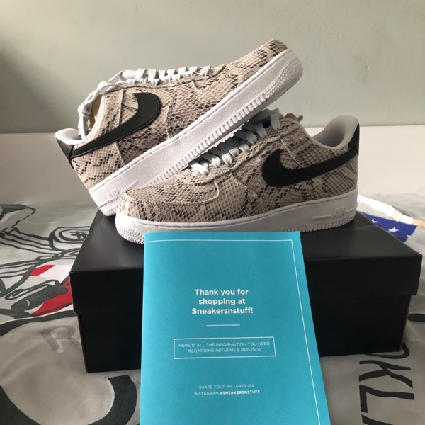 Nike Air Force 1'07 Premium (Snakeskin) Us:8.5