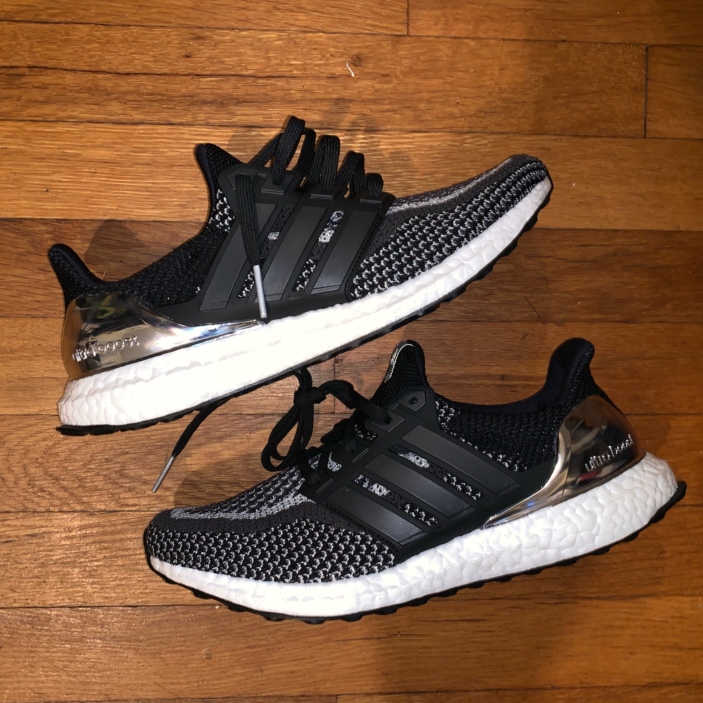 """best authentic 47845 9381f Adidas Ultra Boost 2.0'S """"3M"""" And """"Silver Metal"""""""