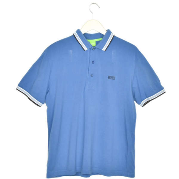 Vintage Hugo Boss polo shirt t-shirt pullover in blue