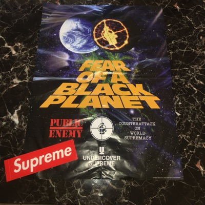 Supreme/Undercover/Public Enemy Poster Ss18