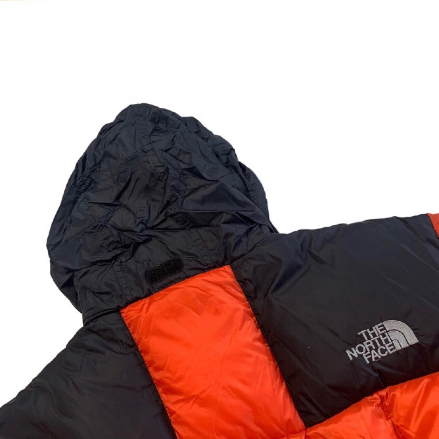 Orange North Face Puffer Jacket - Goose Down