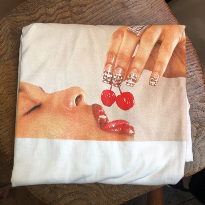 Supreme Cherries Tee-Xl White