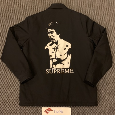 Supreme Bruce Lee Coaches Jacket Black