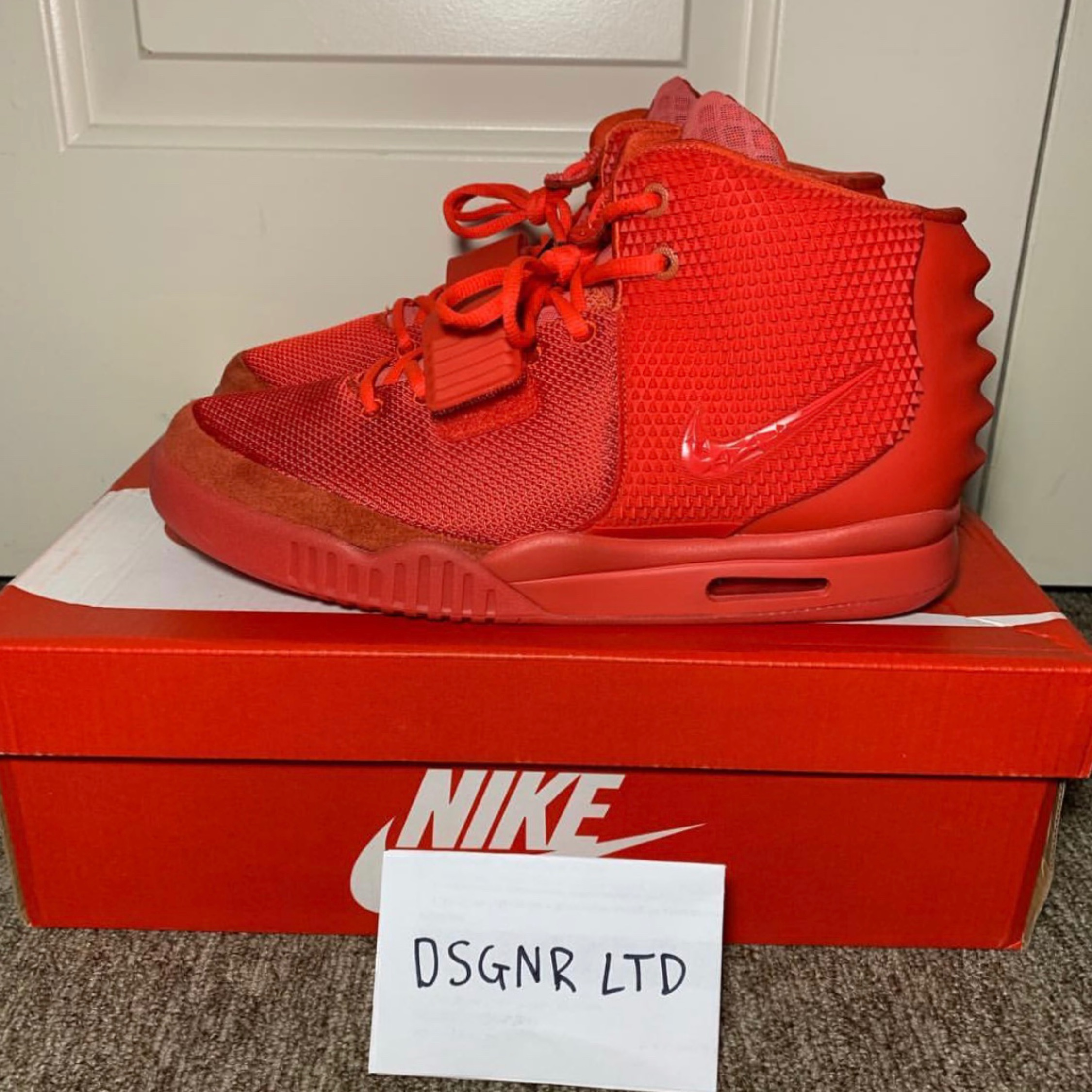 online store 9b528 5919e Air Yeezy 2 Red October